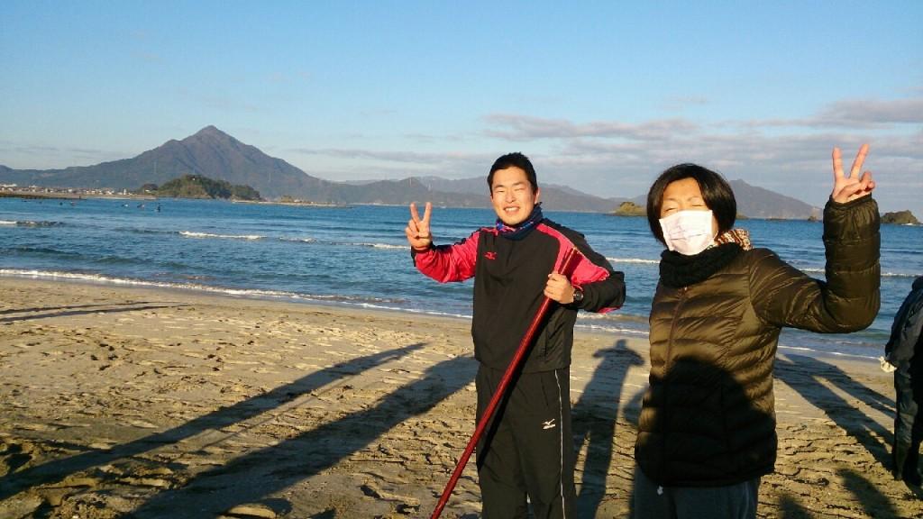 2015ラスト浜掃除♪&練習会_9524