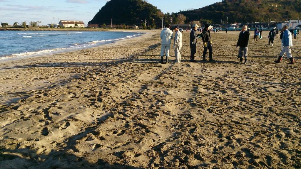 2015ラスト浜掃除♪&練習会_8025